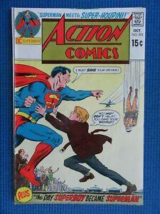 ACTION COMICS # 393 - (VF) -SUPERMAN - THE DAY SUPERBOY BECAME SUPERMAN