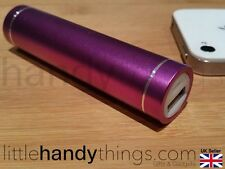 Iphone/Samsung/Nokia Portable Power Bank Booster/Travel Charger Pale Purple