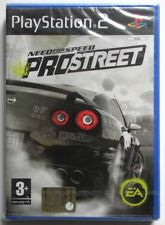 GIOCO NEED FOR SPEED PROSTREET PS2 PLAYSTATION 2 PAL ITA LEGGERE INSERZIONE