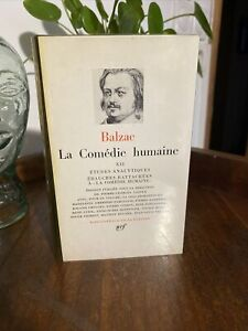 Pleiade La Comedie Humaine XII - 1981