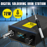 72W Digital Soldering Iron Station Temperature Controller+T12 Handle+T12-K Tip