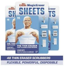 Mr. Clean Magic EraserCleaning Sheets 3 Pack of 16 or 48 Total Household Help