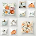 1/4pcs Halloween Pillow Case Sofa Pumpkin Ghosts Cushion Cover Home Decoration