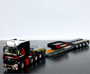 "Mercedes Actros MP4 SLT big space 8x4 lowloader 4 axle""Mammoet"" WSI truck models"