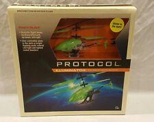 NEW PROTOCOL ILLUMINATOR 3 CHANNEL REMOTE CONTROL HELICOPTER GLOWS IN THE DARK