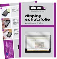 2x Lenovo Tab4 10 TB-X304F Schutzfolie klar Displayschutzfolie Folie Display