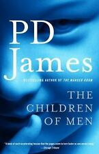 THE CHILDREN OF MEN by PD James FREE SHIPPING paperback book dystopian movie