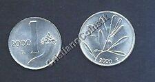 1 Lira + 2 Lire 2000  FDC