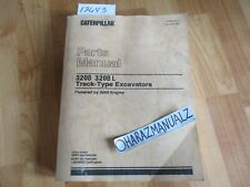 CATERPILLAR 320B / 320B L Track Type Excavator Parts Manual