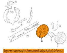 GM OEM-Brake Backing Plate Left 15650129