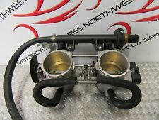 BMW F650GS F650 K72 2011 COMPLETE TWIN THROTTLE BODY WITH TPS & INJECTORS BK440