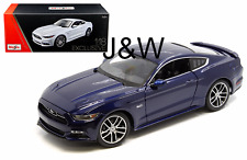 Maisto Ford Mustang GT 2015 50th Anniversary Blue 1/18 Exclusive Ed. 38133