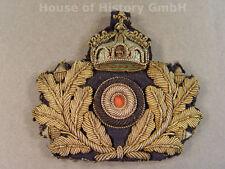 KAISERLICHE MARINE Schirmmützenabzeichen für Offiziere, handgestickt, 94344