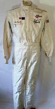 Nascar Race Used #41 Joe Nemechek Winston Cup Drivers Suit Larry Hedrick Vintage