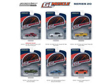 GL MUSCLE SERIES 20 SET OF 6 CARS 1:64 DIECAST MODEL CARS BY GREENLIGHT 13210