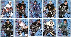 1994-95 FLEER ROOKIE SENSATIONS INSERT CARDS - PICK YOUR SINGLES - FINISH SET