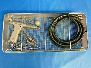 Hall Zimmer 5044-01 Drill / Reamer w/ 5052-10 Hose & Jacobs / Trinkle Orthopedic