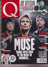 Q MAGAZINE UK JULY 2015, MUSE, FOALS & JOY DIVISION 22-PAGE ANNIVERSARY SPECIAL.