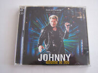 CD JOHNNY HALLYDAY , STADE DE FRANCE 1998 , 2 CD ALLUMEZ LE FEU  , BON ETAT .