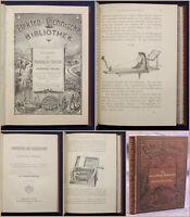 Hartleben's Elektro-technische Bibliothek Bd 15 Die Anwendung Elektricit 1883 sf