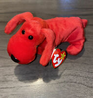 TY Beanie Baby ROVER The Red Dog - With Tag Style #4101 Retired