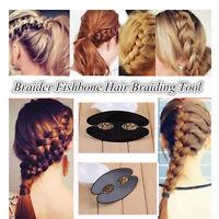 1PC Braid Hair Braiding French Braid Tool Roller Magic Twist Styling-Bun