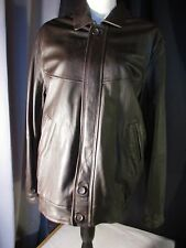 blouson cuir marron DONATO taille 50