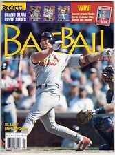 Beckett Baseball Card Monthly Issue #169 April 1999 Mark McGwire