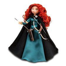 "Disney Store Brave Princess Merida 11"" Classic Doll with Bow & Arrow DAMAGE Box"