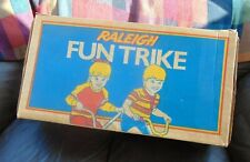 VINTAGE RALEIGH LITTLE TRIKE - TOTALLY ORIGINAL AND BOXED IN ORIGINAL BOX