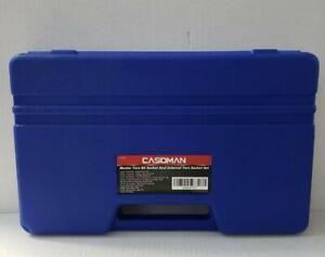 CASOMAN Master Torx Bit Socket and External Torx Socket Set, 60-Piece Set