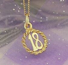 Letters, Numbers Words Traditional Fine Charms & Charm Bracelets