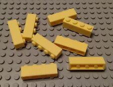 New Lego Lot of 8 Bright Light Yellow 1x4 Basic Building Bricks