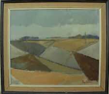 Boye Winther , Landschaftskomposition, um 1950