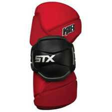 Stx K18 Lacrosse Arm Guards Red Adult Medium Pd Agk4 02 Rd/Xx Protection Sports