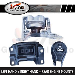 For Mazda 3 BK 2.0L Engine Mount Set 2004-2009 MZR Right Hand Auto / Manual