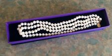 Double Strand White 6-7mm Cultured Pearl Necklace
