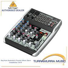 Behringer Xenyx QX1002USB 10-Input Audio Mixer with FX & USB