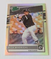 2020 Donruss Optic Silver Holo Prizm Nick Madrigal #RP-20 White Sox Prospect
