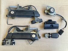 BMW E34 Touring Lock And Handle Set 5 Series Ignition Key
