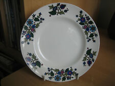 VINTAGE MIDWINTER 'ALPINE BLUE' SIDE PLATE.