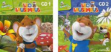 2 CDs * LEO LAUSEMAUS : HÖRSPIEL 1 + 2 IM SET # NEU OVP §