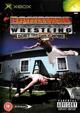 Backyard Wrestling Don't Try This at Home (Xbox) - Free postage