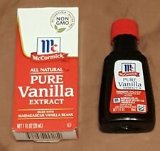 1 ounce McCormick Pure Vanilla Extract Baking Cooking Essential Free Shipping