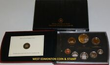 2008 PROOF DOUBLE DOLLAR SET - CANADIAN 8-COIN SET - CASE, BOX & CERTIFICATE