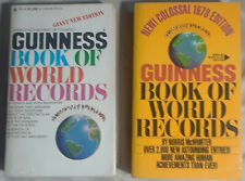 6 obsolete Guinness Book of Records / Guinness Book of World Records