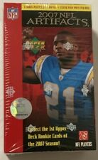 2007 Upper Deck Artifacts Football Box Factory Sealed 8 Pack