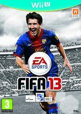 FIFA 13 Nintendo Wii U Pal Reino Unido ** GRATIS UK FRANQUEO!!! ** No Manual