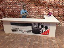 1/18 scale Service Counter / Desk  for garage diorama