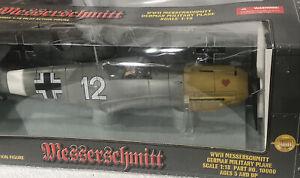 GERMAN WWII - Messerschmitt ME-109E 1:18 Scale Plane w Pilot - Ultimate Soldier